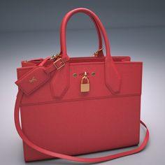 24b2392751b Louis Vuitton City Steamer Bag 3D Model .max .c4d .obj .3ds .