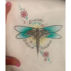 Image result for dragonfly with caduceus