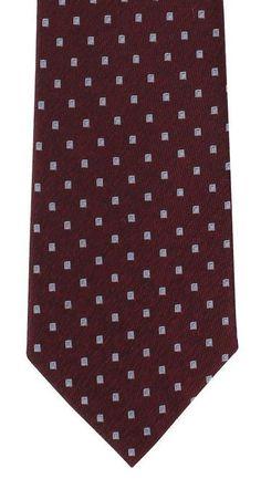 Cravate Michelsons en soie bordeaux à carreaux Gentleman Shop, Bordeaux, Shopping, Silk, Bordeaux Wine