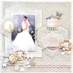 Gerry van Gent: Wedding layouts ~Webster`s Pages~ & {Creatief met Foto`s}