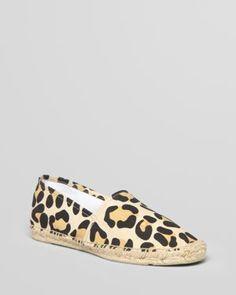 Leopard print espadrilles?? Yes please!