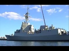The first of the new Hobart Class, Air Warfare Destroyers for the Royal Australian Navy, 'Hobart' was launched 23 May and is now being fitted out for f. Royal Australian Navy, Rainy Sunday, Navy Man, Warfare, Running, Youtube, Keep Running, Why I Run, Youtubers