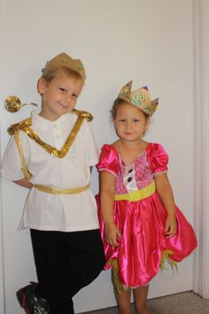"Homemade ""Prince Charming"" costume for a prince and princess party!"