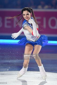 Evgenia Medvedeva of Russia performs in the gala exhibition during the day 4 of the ISU World Team Trophy 2017 on April 23, 2017 in Tokyo, Japan.