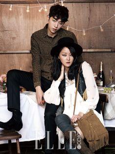 Nam Joo Hyuk, Kang Seung Hyun - Elle Magazine December Issue '14