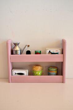 Pink shelf   Cocinas de juguete Macarena Bilbao