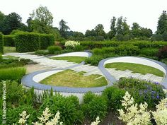 Marks Hall in Essex Contemporary garden design