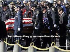National Police Week - May - Washington, DC. If agencies in your town/city are having any memorials to honor their fallen, I hope you'll attend.