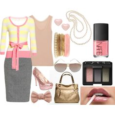 """""""Cute Business Casual"""" by singlelady717 on Polyvore"""