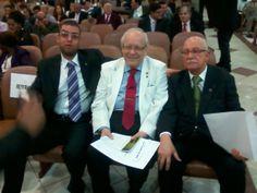 Eu, Reverendo Guilhermino Cunha (meu pastor) e Reverendo Isaías de Souza Maciel.