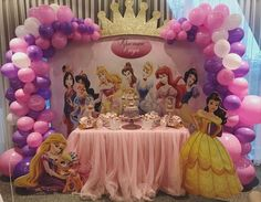 Disney princess birthday party dessert table and decor – Artofit Disney Princess Birthday Party, Princess Theme Party, Cinderella Party, Princess Birthday Party Decorations, Birthday Party Themes, 5th Birthday, Birthday Crowns, Embroidery Applique, Machine Embroidery
