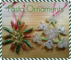 Macaroni Made: Pasta Ornaments | Macaroni Kid
