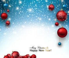 2015 Christmas and New Year baubles background vector 05 Vector Christmas, Christmas Baubles, Christmas And New Year, Happy Year, Vector Background, Vector File, Free, Pictures, Christmas Ornaments