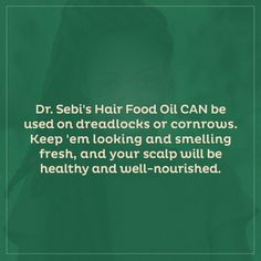 FAQ: Can the Hair Food Oil be used on locs?