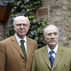 Gilbert and George Frieze London, Gilbert & George, White C, Mens Glasses, Portraits, Art Plastique, Historical Photos, Great Artists, Art History