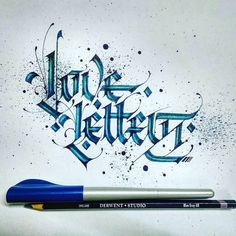 I am a huge fan of calligraphy and I love this phrase in relation to typography. Type by @lalit.mourya207 | #typegang - typegang.com | typegang.com #typegang #typography