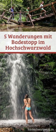 Es wird zu heiß beim Wandern im Schwarzwald? Dann gibt es hier 5 Tipps für See… It gets too hot when hiking in the Black Forest? Then there are 5 tips for lakes, rivers and waterfalls to keep you cool. Europe Destinations, Holiday Destinations, Places To Travel, Places To See, Europa Tour, Les Cascades, Camping Photography, Family Photography, Black Forest