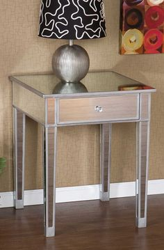 Holly Martin Montrose Mirrored Accent Table Ubuyfurniture