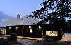 1970's House transformation -  Playtime Agence d'Architecture - Lyon, France