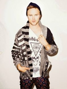 NYLON GUYS MAGAZINE- Aaron Paul by Kenneth Cappello. September 2013, www.imageamplified.com, Image Amplified (2)
