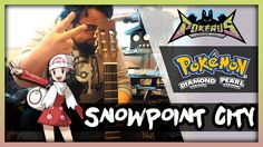 I made an acoustic rendition to the Snowpoint City theme from Pokémon DPPt. I hope you like it! :)
