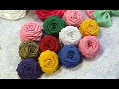 ▶ Paper Flowers, Tutorial, DIY, Crepe Paper Roses - YouTube