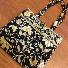 """NWOT Vera Bradley small tote Vera Bradley tote, never used.  Great size for a large purse, a student's books, knitting supplies, anything you need to tote!  14"""" wide and 13"""" tall. Vera Bradley Bags Totes"""