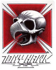 tony hawk skate wheel logo - Google Search