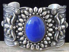 Darryl Becenti Lapis Lazuli Bracelet from Chacodog.com