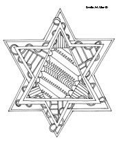 Judaism coloring pages [some adults like coloring books too!]