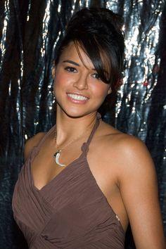 Michelle Rodriguez. The beautiful tomboy.