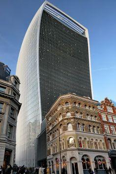 London, Darwin, Skyscraper, Multi Story Building, Street, Europe, Pictures, Travel Report, Travel