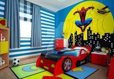 Já reparou como os meninos curtem os super-heróis? Homem-Aranha, Homem de Ferro, Super Homem, Capitão América e muitos outros personagens?