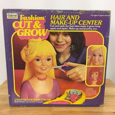 Vintage 1981 Gabriel Fashion Cut and Grown Toy Hair and