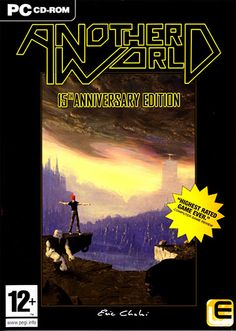 """Another World - one of the best Amiga """"movie"""" action game"""