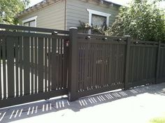 Would really love to have a sliding gate.