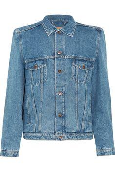 Blue denim Button fastening through front 100% cotton Specialist clean