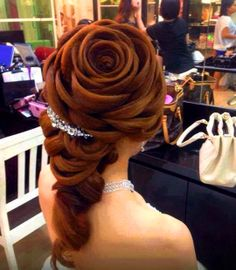 Rose hairstyle