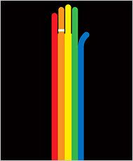 new york ties the rainbow knot! nice.