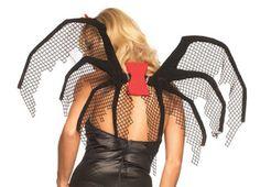 Zwarte weduwe vleugels