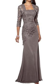 MaliaDress Womens Mother of Bride Evening Party Dress with Shawl M263LF Gray US16 -- Check this awesome product by going to the link at the image-affiliate link. #SweatersForWomen