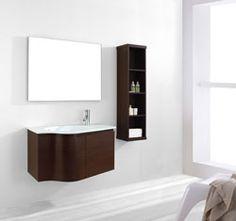 """36"""" Virtu Roselle ES-1236WA : bathroom vanity #BathroomRemodel #BlondyBathHome #BathroomVanity   #ModernVanity"""