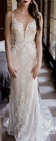 Wedding dress, lace wedding dress, unique wedding dress, sexy wedding dres