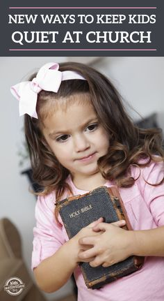 Trying to keep your toddler quiet at church can be quiet the battle! Here are some ways to keep them still.
