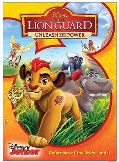 Join Kion, Bunga, Ono, Beshte and Fuli as they head out on an adventure to defend the Pride Lands in The Lion Guard Unleash The Power DVD! The Lion Guard Unleash The Power DVD