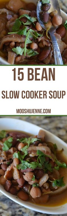 Made with onions, 15 beans, garlic, cilantro, jalapeno, bacon and spices. The fall weather is here! The windows open, watching movies, slow cooker going, and just relaxing while I work. The only other condition I would change is a bit of rain.