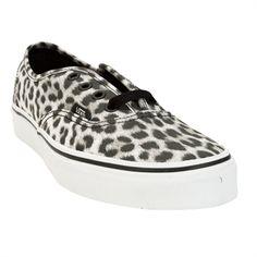 Vans Leopard Authentic Sneaker #VonMaur #Vans #Leopard #AnimalPrint