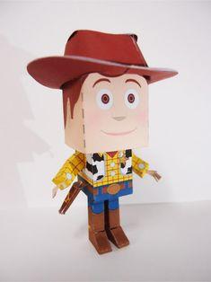 Blog Paper Toy papercraft Woody pic1 Papercraft du Shérif Woody (Toy Story)