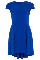 Panelling Dip Hem Dress