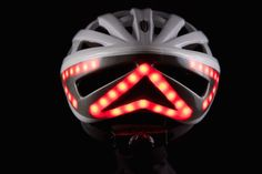 The Lumos has a Tron vibe. With 42 LEDs including turn signals with wireless remote control that mounts on your bars, this bike helmet is next level. Mountain Bicycle, Mountain Biking, Bike Cargo Trailer, New Helmet, Light Building, Road Bike Women, Cool Bike Accessories, Digital Trends, Cycling Bikes